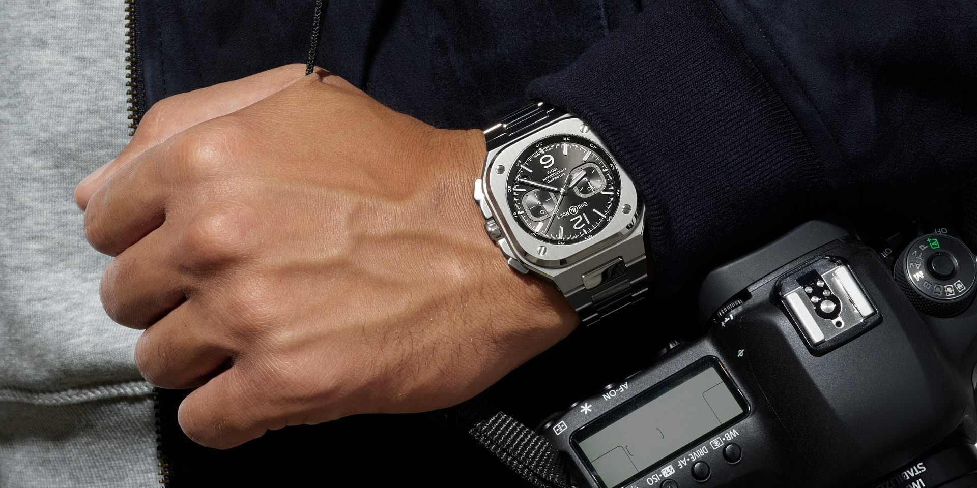 都市精英  分秒必爭:Bell & Ross BR05 Chrono計時腕錶