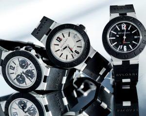 黑白輕重 強烈對比:Bulgari Aluminium