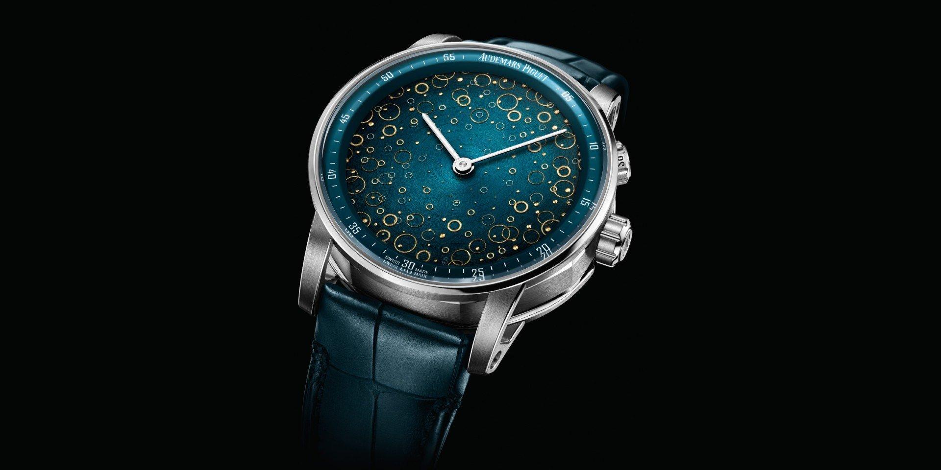 頂尖製錶工藝與獨一無二琺瑯錶面藝術:愛彼CODE 11.59系列大自鳴鐘樂超問錶