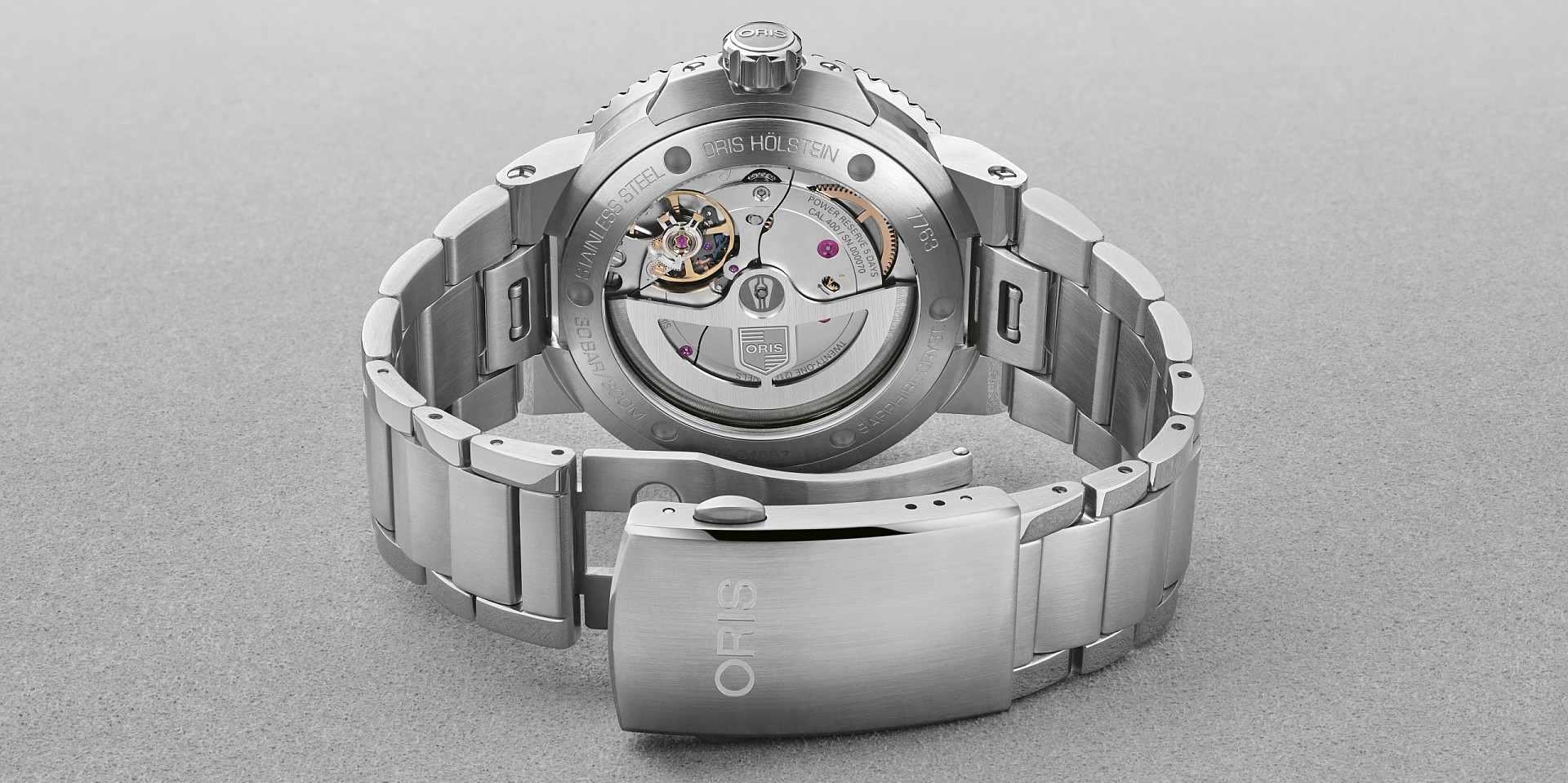 【2020線上錶展】ORIS 推出全新 Caliber 400 自製機芯,搭載於Aquis Calibre 400日期錶