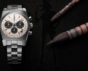 慶祝日本東京銀座專賣店隆重開幕,真力時發表Chronomaster系列復刻版魯邦三世腕錶第二版