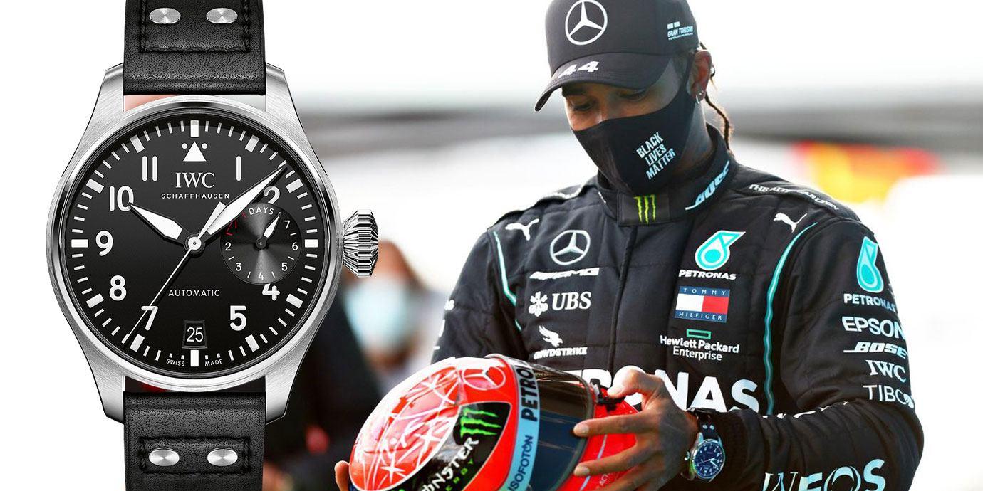 英雄惜英雄:前後任F1車神與他們的矚目腕錶