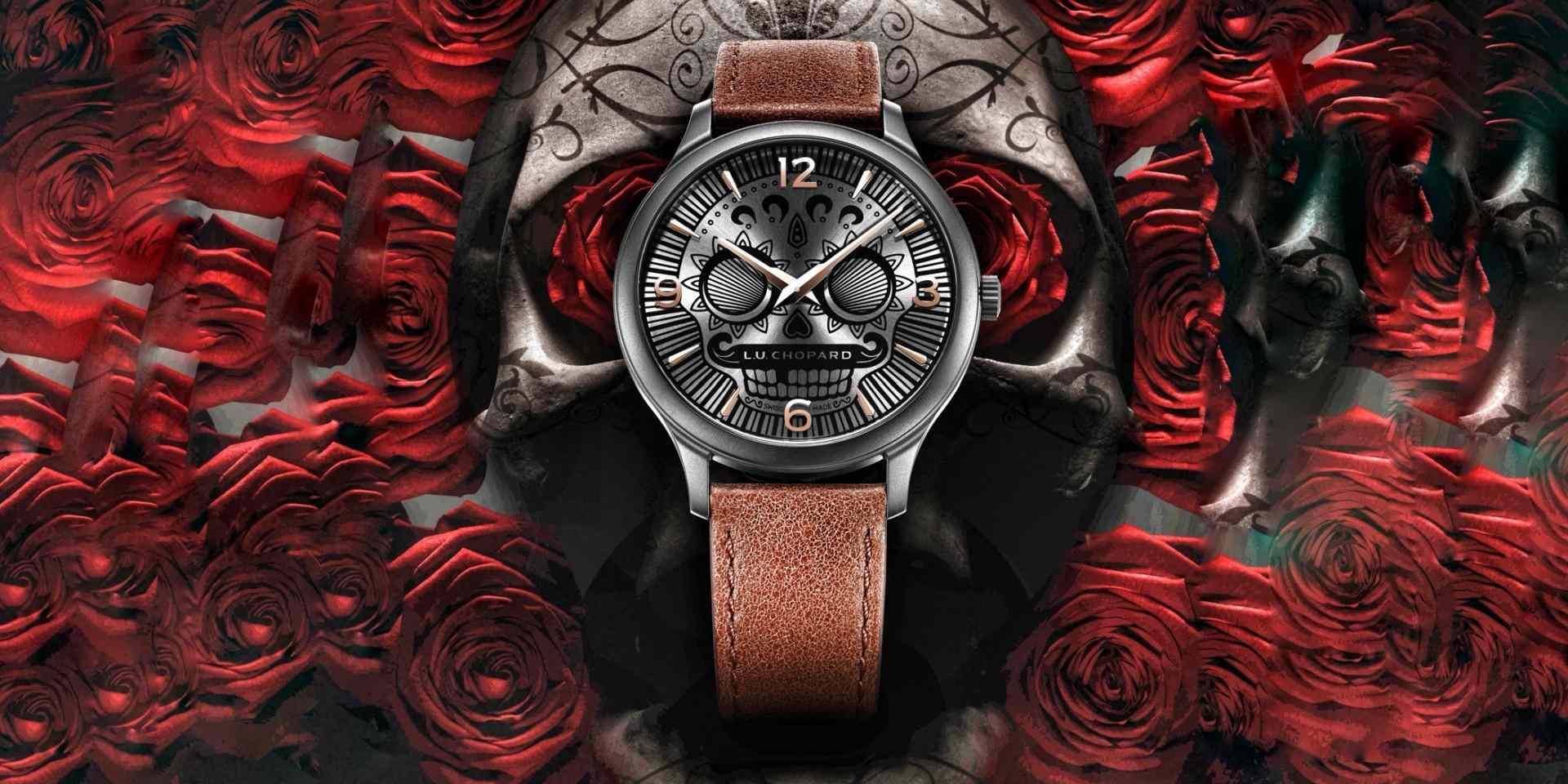 萬聖與亡靈同慶:蕭邦L.U.C Skull One腕錶