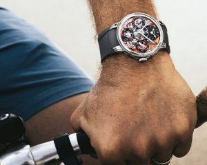 為運動而生:MB&F Legacy Machine Perpetual EVO腕錶