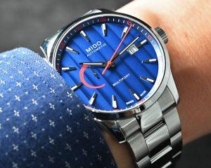 增添美學成分的高CP之作:Mido Multifort系列腕錶