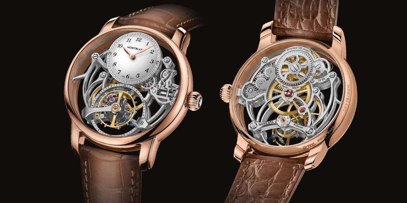 頂級工藝再創懸浮新境界:萬寶龍明星傳承系列外置陀飛輪鏤空腕錶