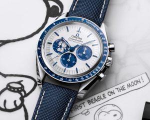 萌度破表的太空史奴比:Omega Speedmaster Silver Snoopy Award 50週年紀念錶
