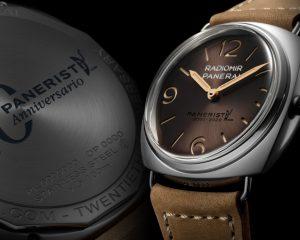 向Paneristi社群20週年致敬:沛納海推出Radiomir Venti腕錶