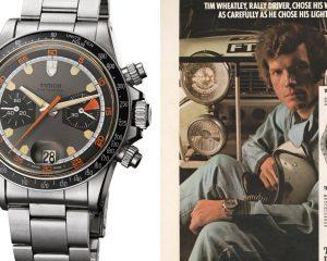 這些綽號錶迷們認識幾樣? Tudor計時腕錶問世50週年