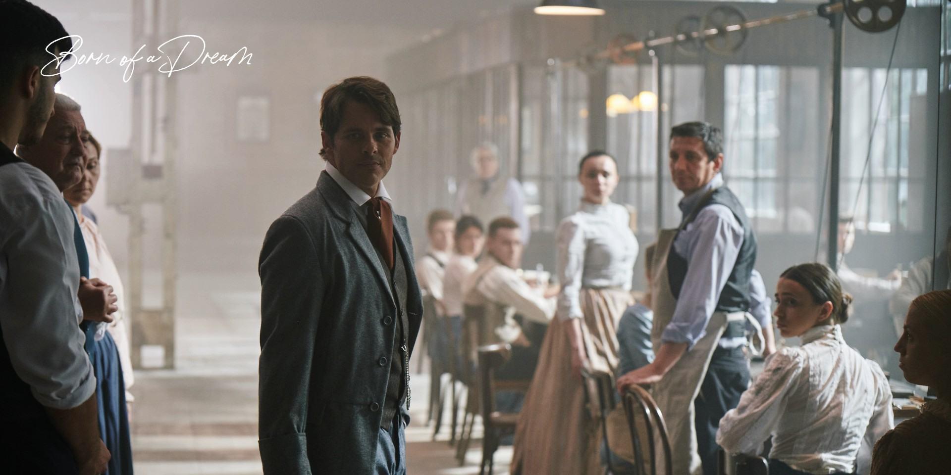 IWC《夢想的誕生》第二部微電影由品牌大使詹姆斯.馬斯登飾演品牌創辦人佛羅倫汀.瓊斯