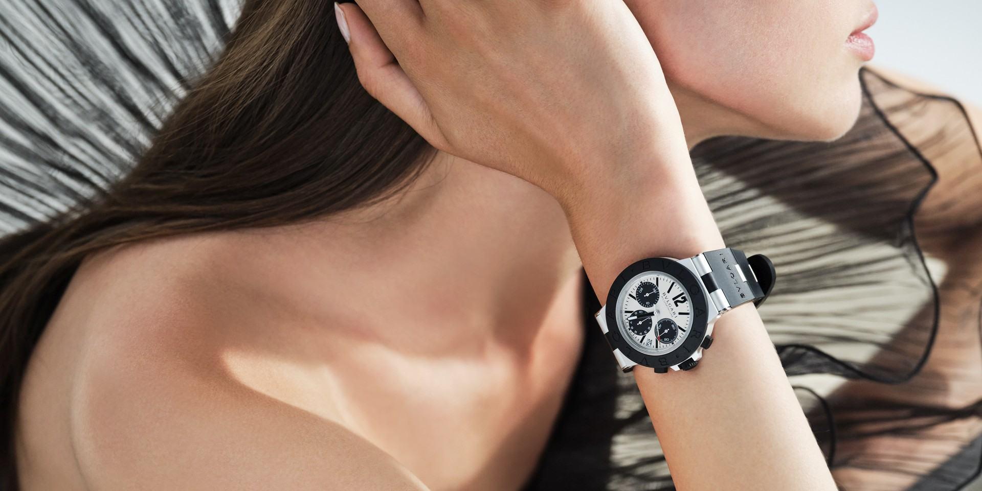 寶格麗連六年獲日內瓦鐘錶大賞肯定,Aluminium計時腕錶榮獲2020年GPHG經典腕錶獎座