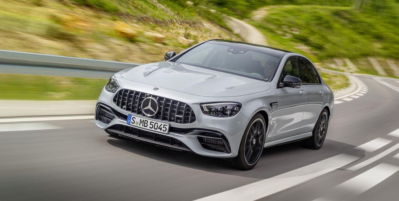 Mercedes-AMG E 63 4MATIC+ 小改款 剽悍登台