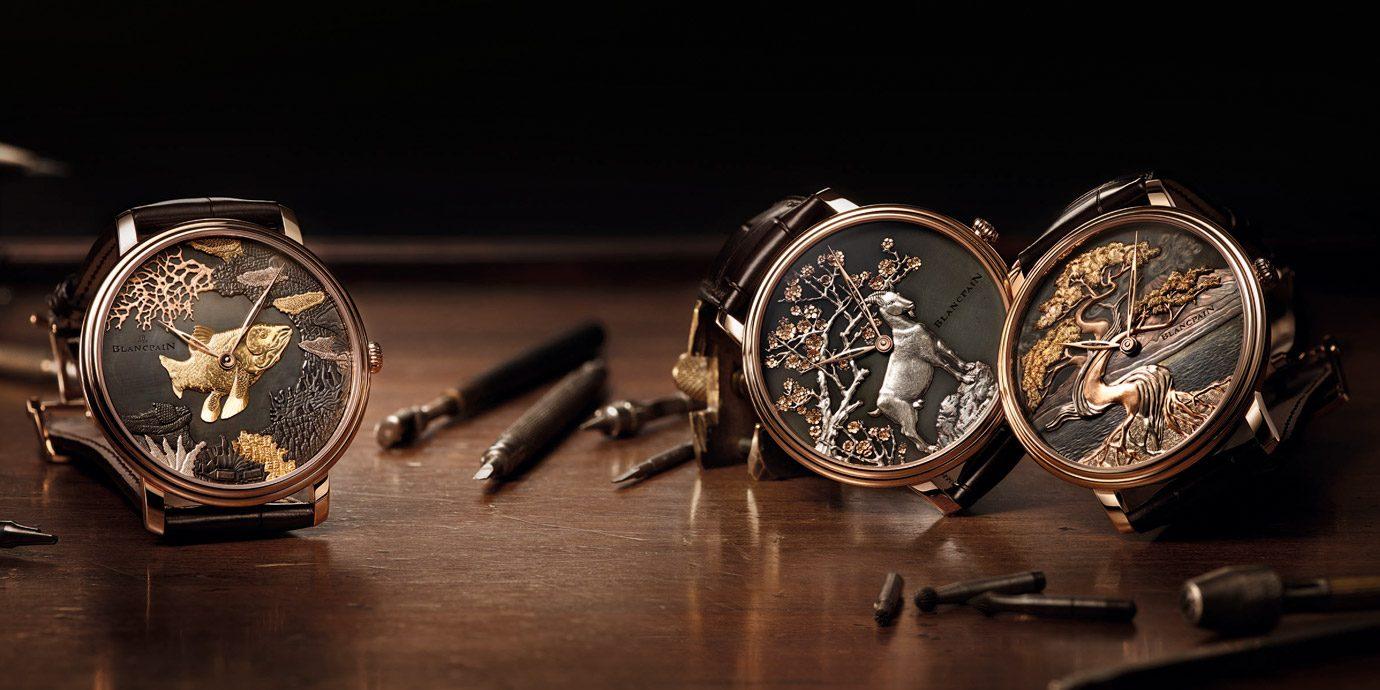 腕錶上的頂尖藝術:Blancpain Métiers d'Art台北101全球獨家訂製腕錶展