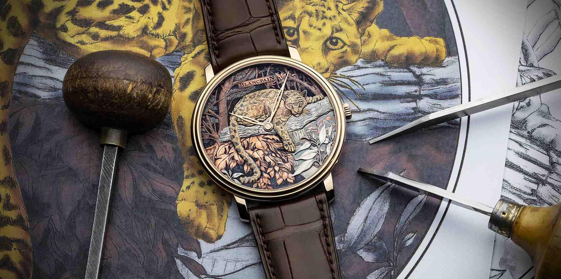 寶珀為台灣打造全球獨賣工藝錶款,台灣雲豹現身 Métiers d'Art 獨家訂製腕錶展