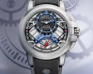 感受鑽石之王的頂級華麗:Harry Winston 2020 Time to Move錶款閃耀登台