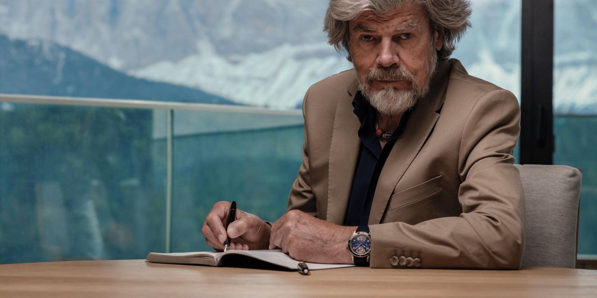 向傳奇登山探險家致敬:萬寶龍推出1858系列Geosphere Reinhold Messner限量款腕錶