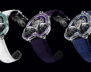 十年一躍:MB&F Horological Machine N°3 Frog X