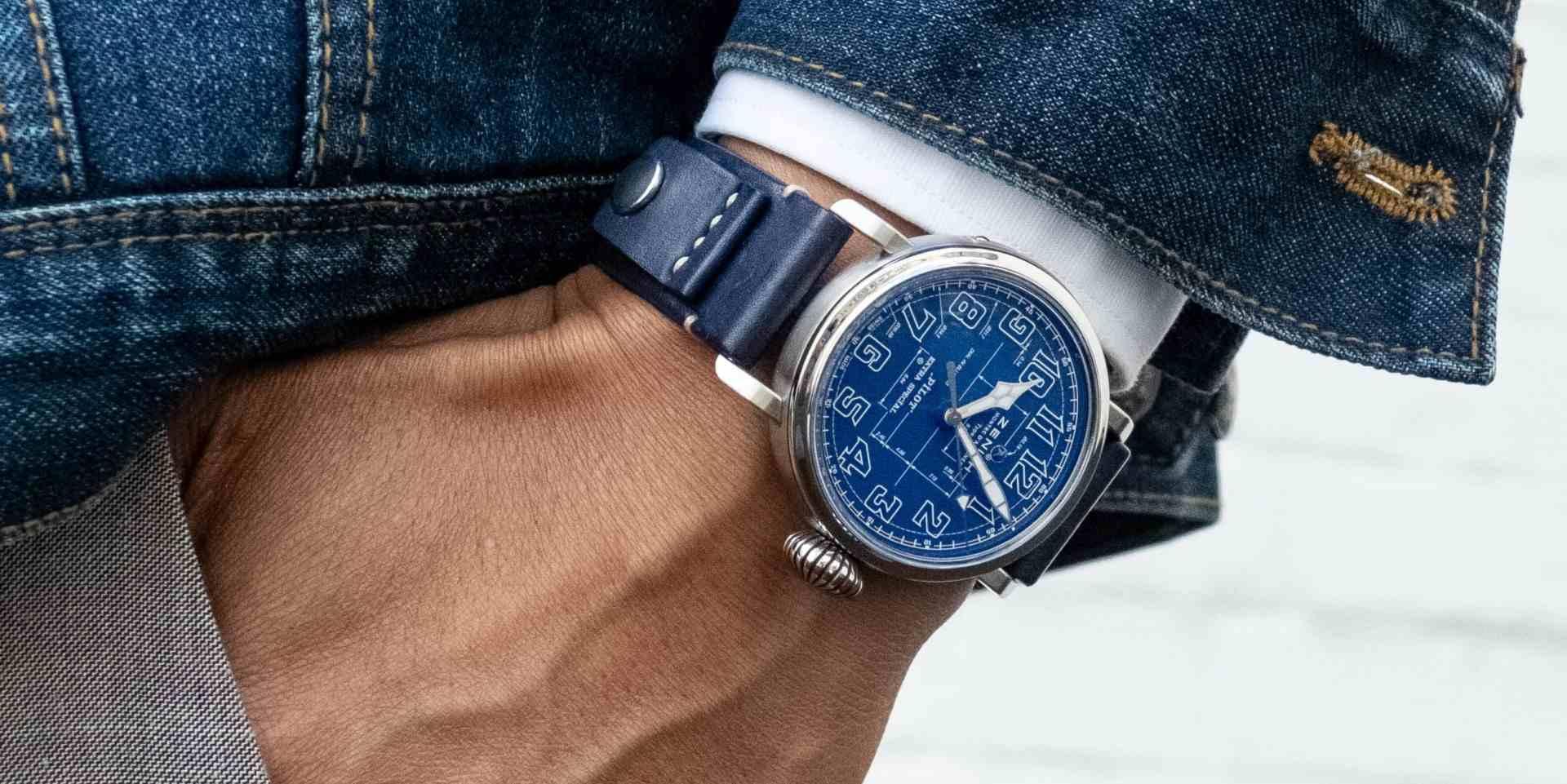 實現壯航世界的藍圖:真力時PILOT 飛行員系列 Type 20 Blueprint限量版腕錶