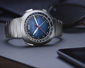 亨利慕時Streamliner疾速者計時碼錶獲得2020年日內瓦鐘錶大賞最佳計時碼錶獎,推出Funky Blue電光藍面盤新款式