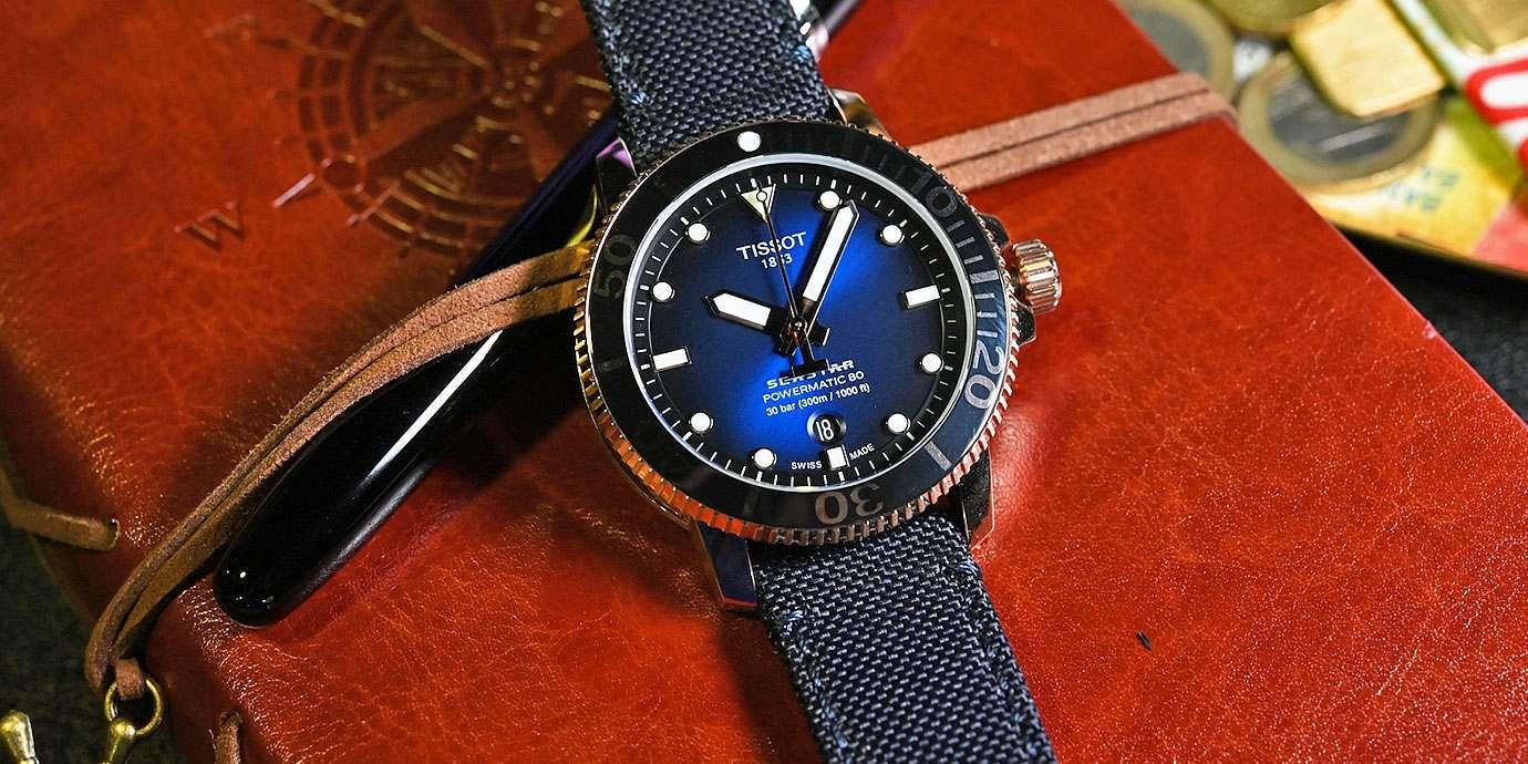 以嶄新樣貌延續高CP值:Tissot Seastar 1000潛水錶