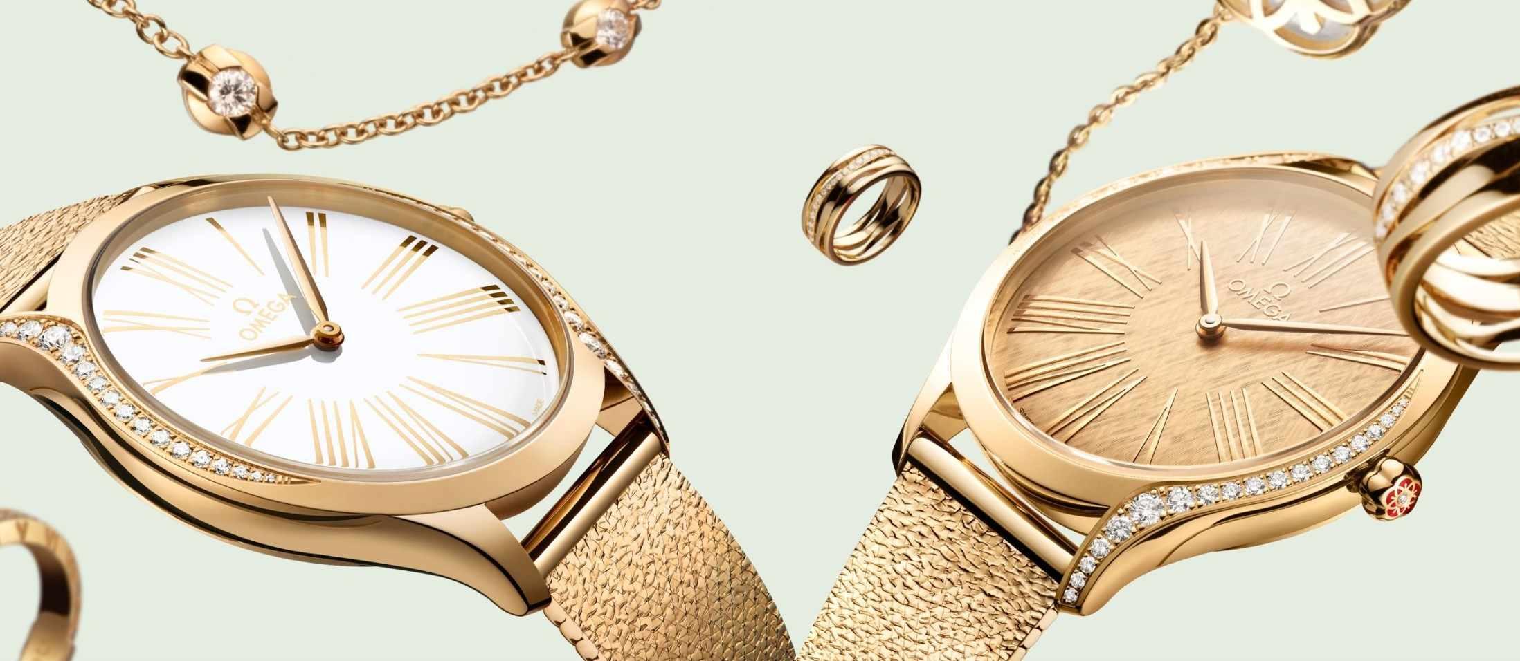 閃耀永恆光芒:歐米茄Trésor Moonshine™腕錶