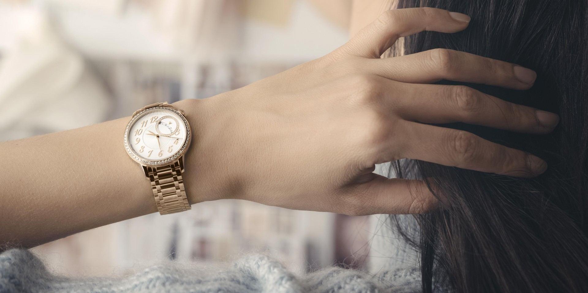 輝映高級製錶之美:Vacheron Constantin 江詩丹頓Égérie自動上鍊腕錶全金款