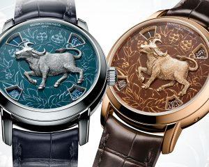 新年來囉:江詩丹頓Métiers d'Art藝術大師系列The Legend of the Chinese Zodiac牛年腕錶