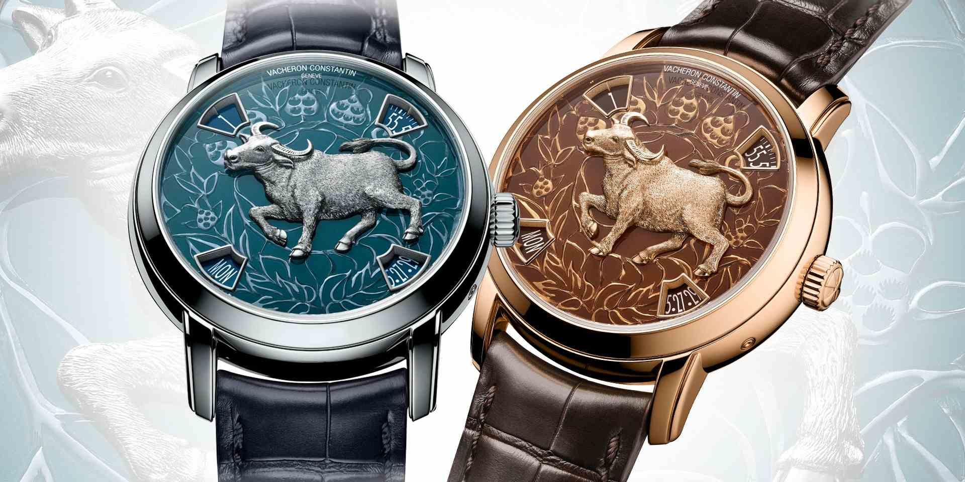 江詩丹頓Métiers d'Art藝術大師系列The Legend of the Chinese Zodiac牛年腕錶