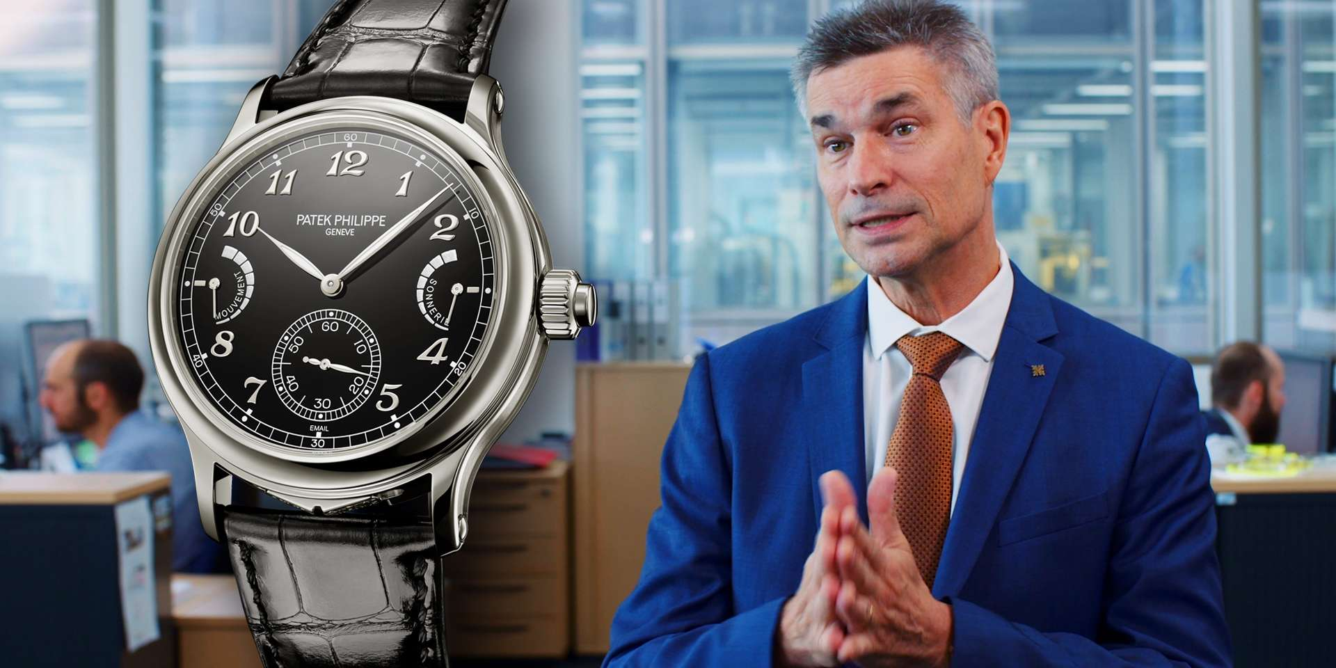 百達翡麗6301P-001大自鳴腕錶三個內行人才知道的門道,讓技術研發經理Philip Barat先生來告訴你