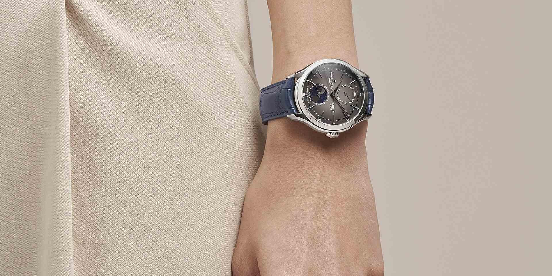 歲末披星月,腕間真名士:Baume & Mercier月相腕錶系列