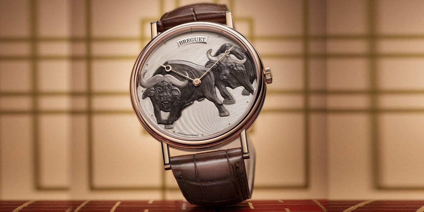 一步一腳印的勤奮象徵:Breguet Classique 7145牛年限量腕錶