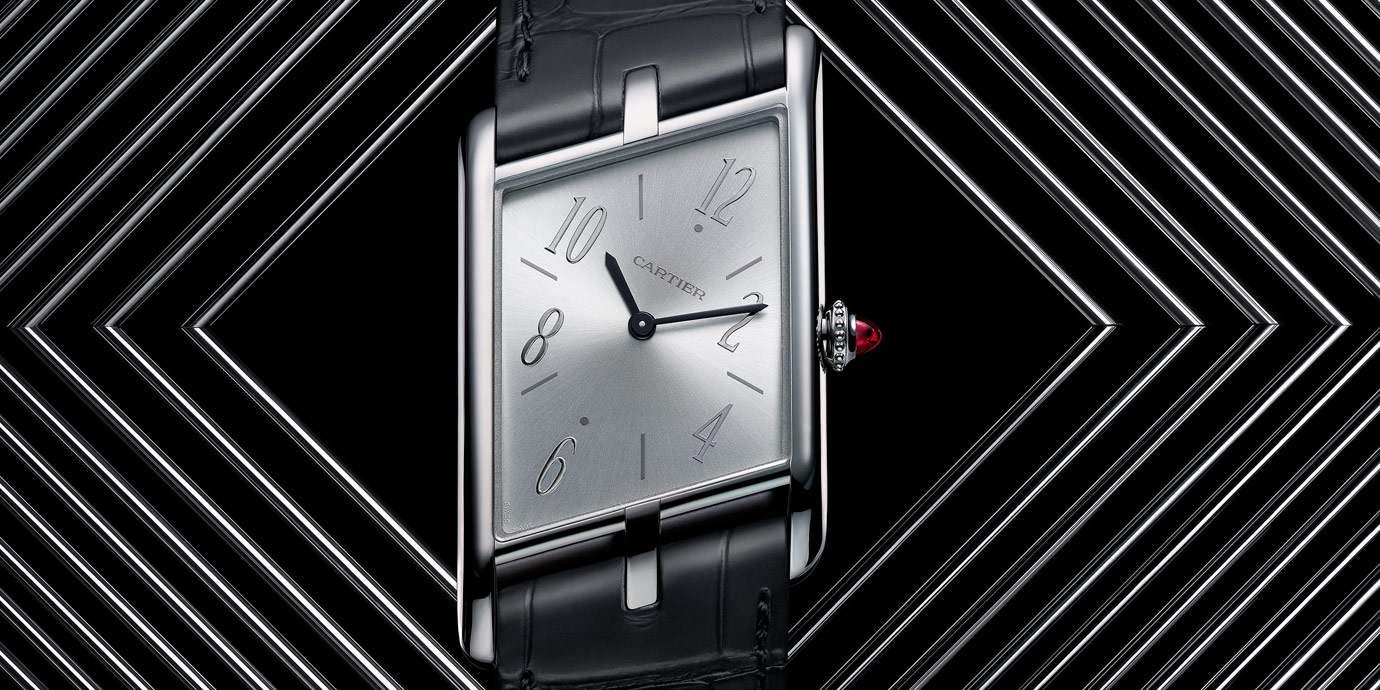 多型魅影:Cartier腕錶形狀之美