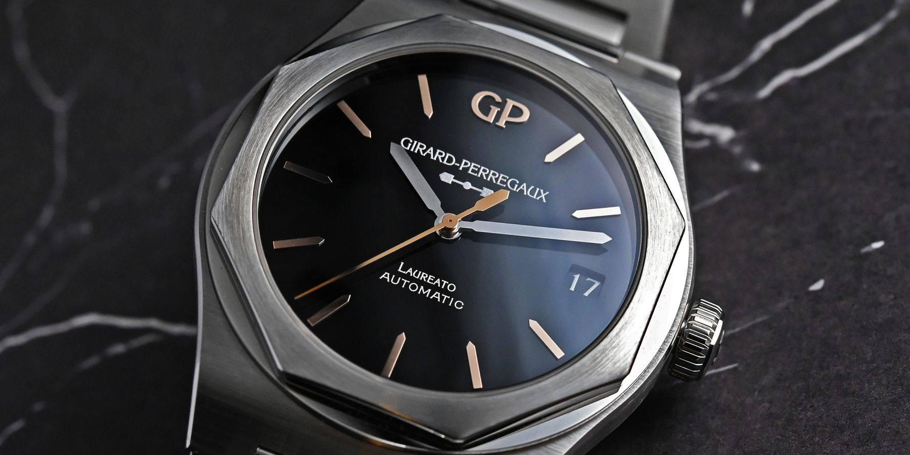 有一種黑,叫GP:芝柏全新Infinity系列腕錶