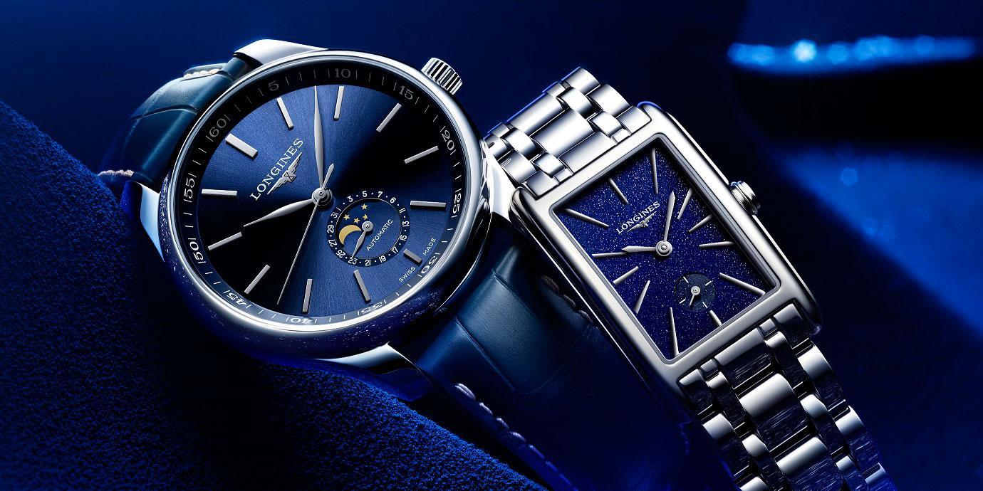 浪漫藍襲捲聖誕:精選五款藍面Longines腕錶