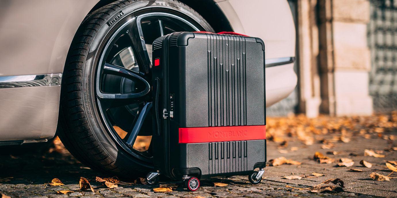 兼具性能與時尚:萬寶龍 X 倍耐力聯名行李箱