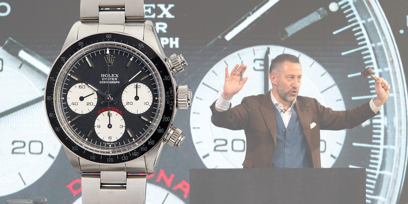 傳奇影星們加持:Phillips「Racing Pulse」鐘錶拍賣創新紀錄