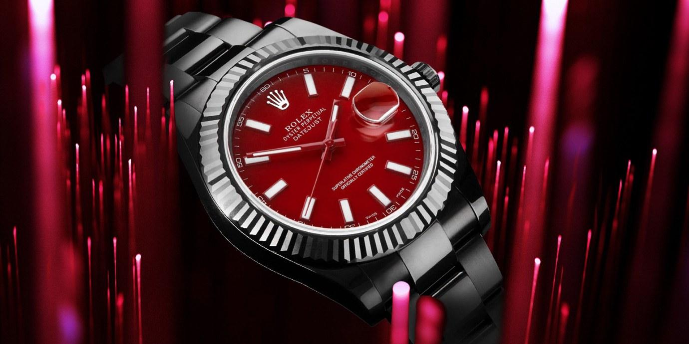 燃起熱血抗寒流:紅面改裝腕錶大集合
