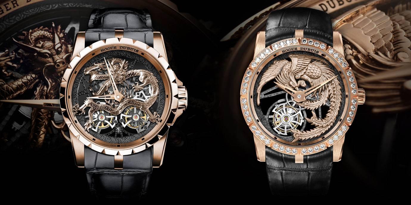 龍飛鳳舞:Roger Dubuis Excalibur 鏤空飛行陀飛輪腕錶