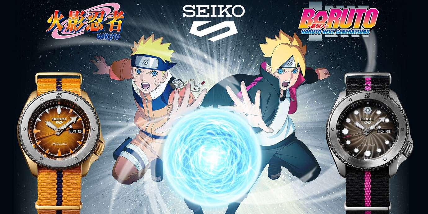 動漫迷們暴動啦! Seiko 5 Sports X 《火影忍者》聯名腕錶