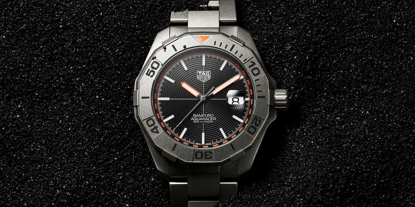運動潮流再升級:TAG Heuer Aquaracer Bamford聯名限量腕錶