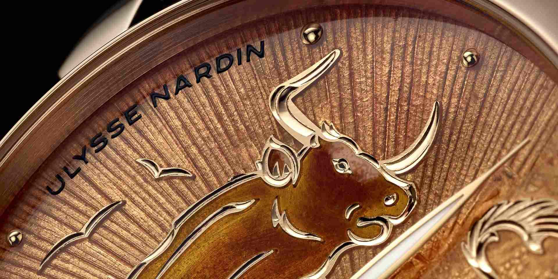金牛眷佑,福財雙增:雅典錶推出 Ulysse Nardin Classico 牛年生肖腕錶