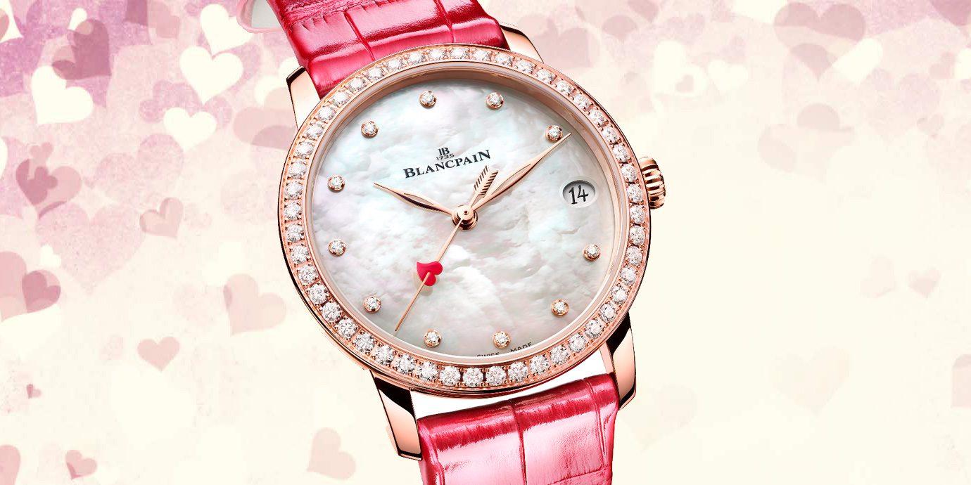 愛情邱比特:Blancpain Villeret日期女裝腕錶情人節特別版