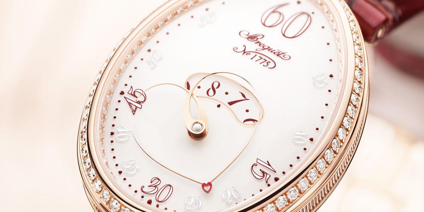 別出「心」裁的指針:Breguet Reine de Naples Cœur 9825腕錶