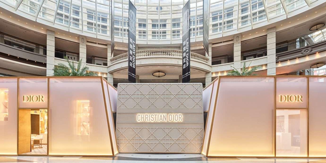 傳承高級訂製精神:Lady Dior台北BELLAVITA期間限定店