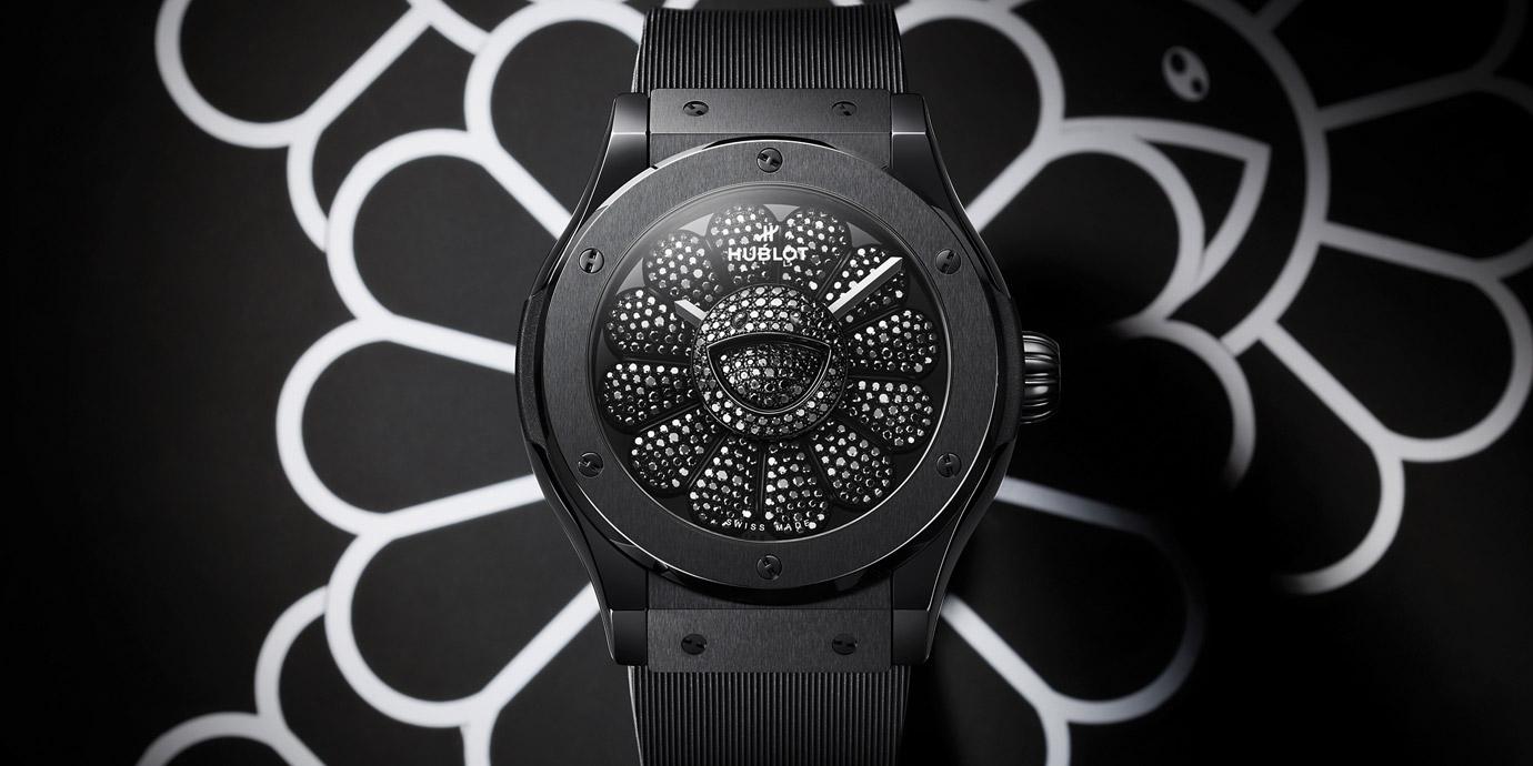 【LVMH Watch Week 2021】最「萌」聯名:Hublot Classic Fusion村上隆All Black聯名腕錶