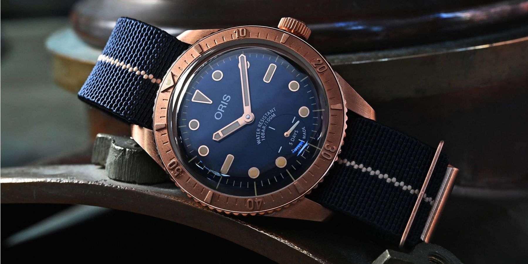 你戴的不是錶,是榮耀!ORIS Carl Brashear Cal. 401限量青銅腕錶