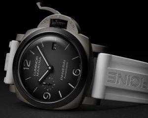 2021小沛新作第一發:沛納海Luminor Marina Guillaume Néry版腕錶–44毫米腕錶(PAM01122)