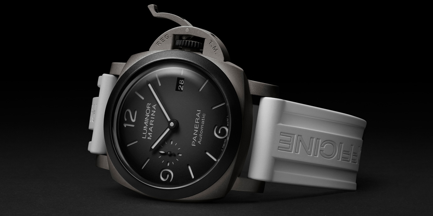 2021年小沛新作第一發:Panerai Luminor Marina Guillaume Néry