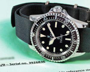 皇家海軍專屬水鬼:Rolex Submariner Ref.5513/5517