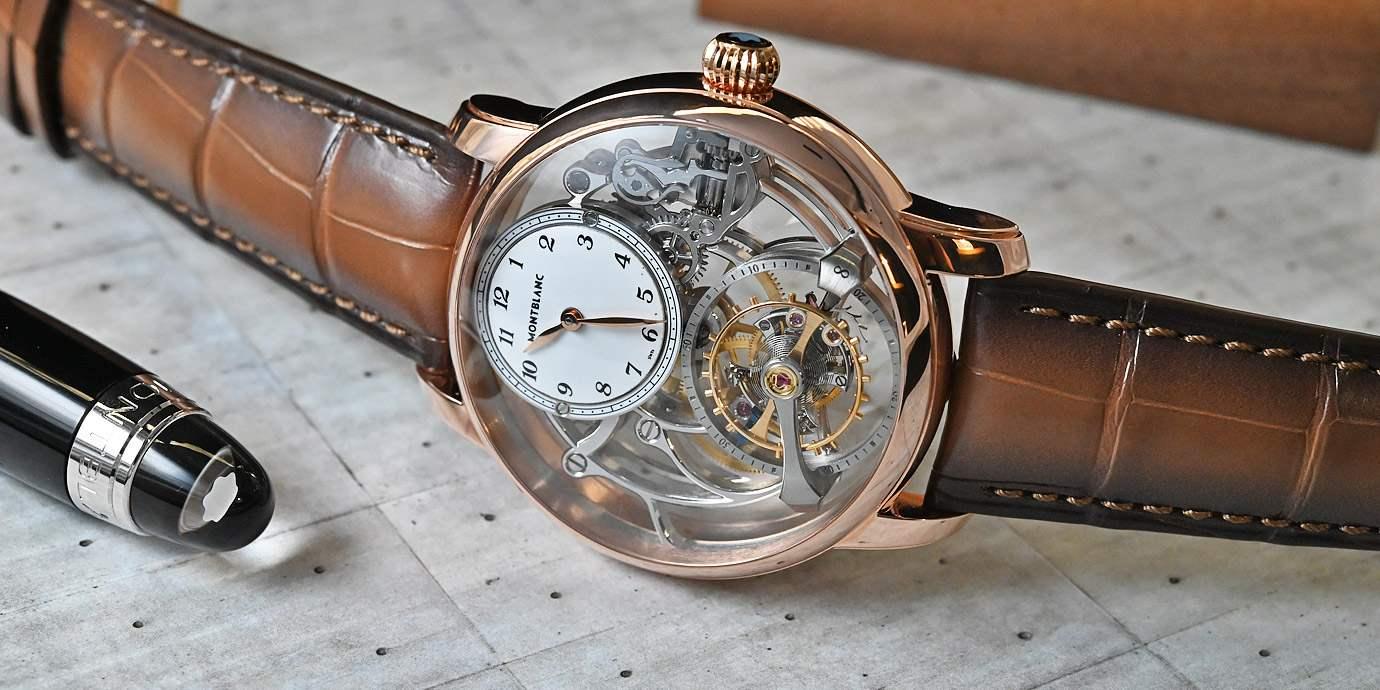 【每週一錶】創造漂浮感的頂尖工藝:Montblanc明星傳承外置陀飛輪鏤空限量款